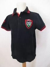 Polo de rugby RCT Toulon Noir Taille 8 ans à - 43%