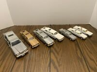 1/32- 1/58 Scale 1980's Lincoln Town Car Limo Diecast Model Toy - Lot