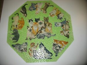 Vintage Springbok Kittens Jigsaw Puzzle Complete 1968