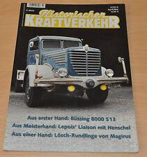Historischer Kraftverkehr HIK 2/13 Büssing 8000 S13 Henschel Magirus Kraz Setra