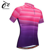 Summer Cycling Jersey Bike Uniform Breathable Top MTB short sleeve Bicycle Shirt