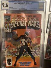 secret wars 8 cgc 9.6