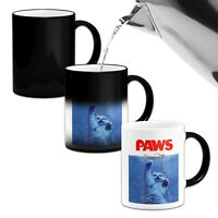 PAWS...Novelty Heat Colour Changing Mug