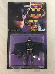 Vintage 1990 Kenner Dark Knight Collection Shadow Wing Batman New Sealed