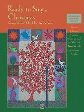 Ready to Sing . . . Christmas: Thirteen Christmas Favorites, Simply Arranged for