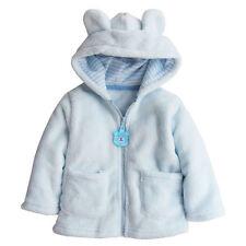 Newborn Baby Boy Girl Kid Hooded Fur Coat Winter Warm Thick Cloak Jacket Clothes