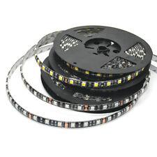 5050 LED Strip Black PCB DC12V Flexible LED Light 60LED/m RGB/White/WW Red Green