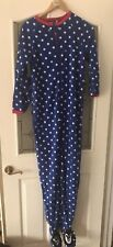 Primark All In One Adult Sleepsuit Pyjamas Size 6/8 Bnwt blue penguin