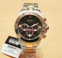 Brand New Men's Hugo Boss Watch 1513339 Two Tone Rose Gold Silver Chronograph