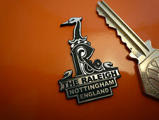"RALEIGH Headstock Self Adhesive Bicycle BADGE 1.75"" Runabout Bike Moped Chopper"