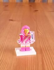 Candy Rapper. Lego Minifigure. Movie  2 Series. With stand & Accessories. New.