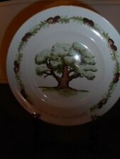 Avon Products Great Oak Fifth Anniversary Plate By Enoch Wedgwood, England