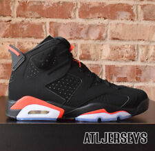 new style e226d e4f53 2019 Nike Air Jordan 6 VI Retro Black Infrared 384664-060