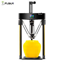 FLSUN Q5 2020 Delta 3D Printer with 32 bit-board Auto-leveling TMC2208 driver