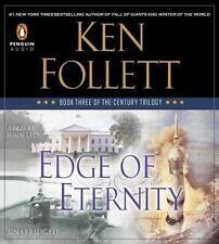 EDGE OF ETERNITY unabridged audio book CD by KEN FOLLETT - Brand New! 37 Hours!