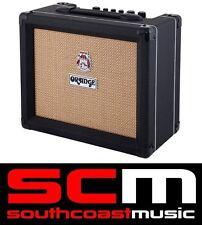 ORANGE CRUSH 20 WATT BLACK GUITAR AMPLIFIER NEW AMP With WARRANTY CRUSH20
