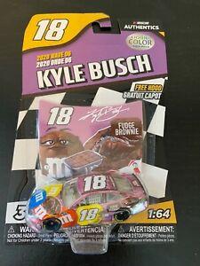 2020 Kyle Busch M&M's Fudge Brownie Liquid Color Chase Piece 1/64