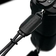 Gariz Black Genuine Leather Mirrorless Camera Wrist Strap XS-WBL6