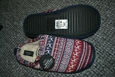 Men's luxury slippers NEW Size 10