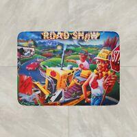 Road Show Pinball Game Rug Mat Floor Door Home House Cotton Collectible