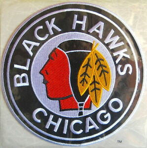 1938 CHICAGO BLACK HAWKS Willabee & Ward NHL THROWBACK HOCKEY PATCH ~ Patch Only