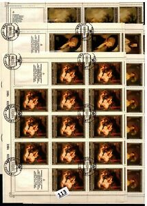 // 42X RUSSIA - CTO - ART - PAINTING - NUDE - 1984 - SHEETS BENT - WHOLESALE