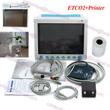 FDA ICU Patient monitor CO2 Vital Signs Monitor 6 Parameters with Printer+ETCO2