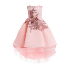 Baby Girl Tutu Tulle Dress Princess Party Flower Girl Pageant Wedding Bridesmaid