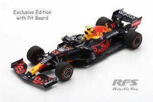 Red Bull RB16B Honda Sergio Perez Formel 1 Azerbaijan 2021 1:43 Spark 7667 NEU