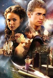 Star Wars Episode 2 Movie Poster 11x17 Photo Promo Attack Of The Clones