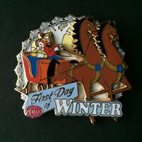 DLR - First Day of Winter 2003 Once Upon a Wintertime LE 1000 Disney Pin 26919