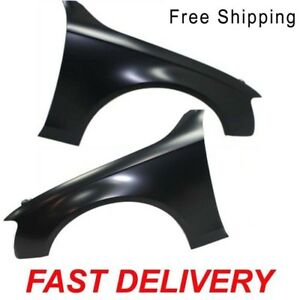 Front Steel Set Of 2 Passenger And Driver Side Fits Audi A4 Quattro A4 S4