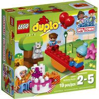 LEGO Duplo 10832 My Town Birthday Picnic 19 pcs Preschool Building Toy Set NEW!