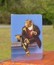 """Smoking Monkey in Tuxedo Top Hat 5 7/8"""" x 4"""" Notebook 2003 by Accoutrements"""
