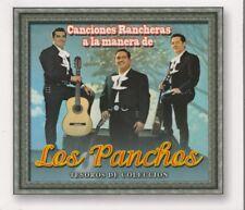 NEW - Los Panchos Canciones Rancheras 3 CD's Tesoros De Coleccion SHIPS NOW !