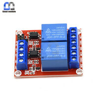 24V 2 Channel Relay Module With Isolation Optocoupler high / low Level Trigger