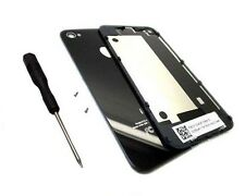 Black Back Glass Rear Door Battery Cover Replacement For iphone 4G GSM AT&T+Tool