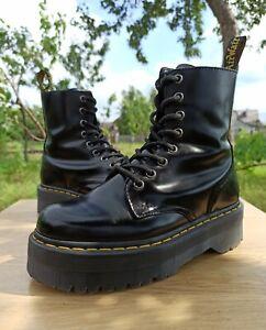 Dr Martens Jadon Women 4 UK 6 US Platform Boots 1460 8 eye Polish Smooth Leather