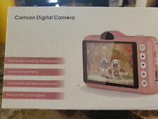 Baby Children Camera Mini Digital Cartoon USB Rechargeable Camcorder Video