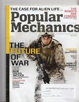 "Popular Mechanics Magazine ""The Future Of War"" July/August 2013 - Alien Life"