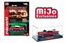Christine 1958 Plymouth Fury (Red Chrome Version) 1/64 Scale Auto World CP7494