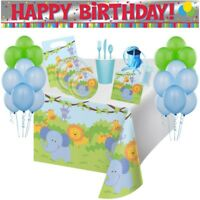Jungle Friends 113pc Birthday Party Supply Pack/Party Kit Serving 8 Guests! CUTE