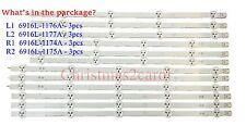 12pcs LG LED strip for 47LN5200 47LN5400 47LN5700 47LN5750 47LN5790. AGF7824080