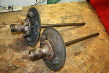 MG MGB Tubed Type Wire Wheel Axle Assemblies