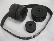 Big Block Ford High Performance Black Gilmer Belt Drive Pulley Kit BBF 429 460