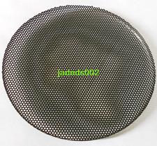 "2pcs 4""inch 133MM speaker grilles black protection net metal  Metal iron mesh"