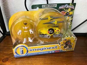 Imaginext MM Power Rangers - Yellow Ranger Battle Armor - Brand NEW