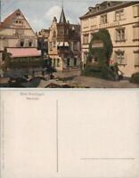 Bad Kissingen Marktplatz, Weigand Weinstube Restaurant, Hotel Wittelsbach 1920