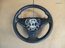 04-12 BMW 5 6 SPORT M5 M6 SMG steering WHEEL LEATHER OEM E60 E64 E63 SMG M SPORT