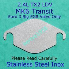 EGR Valve Blanking Plate Ford Transit 2.4 LDV Taxi TX2 2.4 BIG EGR Valve Only SS